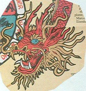 placemat dragon
