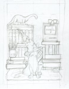 dogwizardcover-pencil
