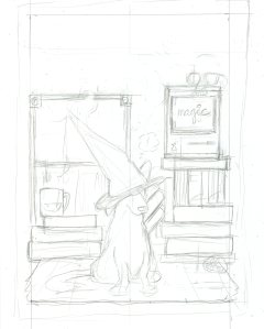 dogwizardcover-wip-pencil