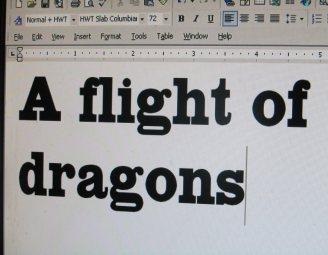 dragon font