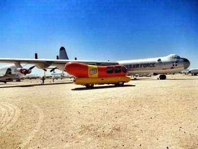 B-36 and weinermobile