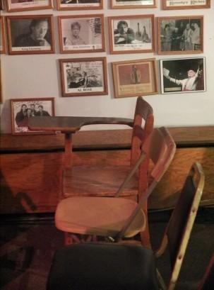 Lawrence Juber old school desk