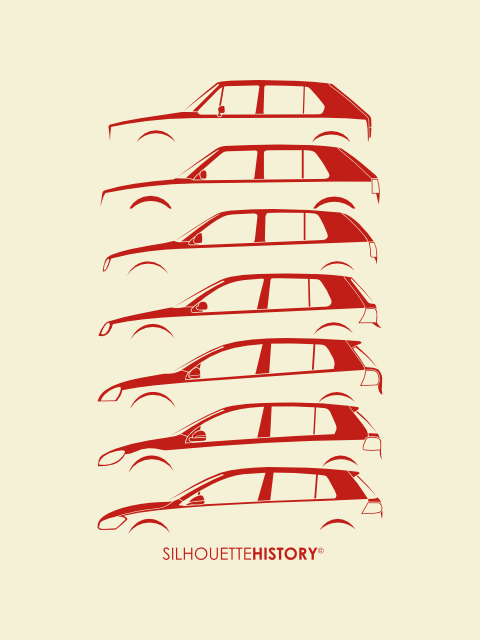 golfhistorysilhouette