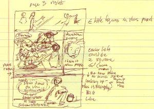 brontosaurus-page 3-scribble-blog