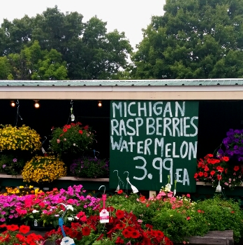 Michigan poem-fruit stand 1