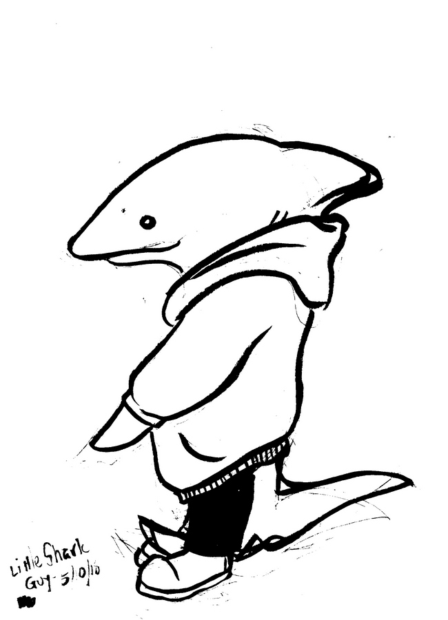 pajama shark origins a cartoonist in kekionga